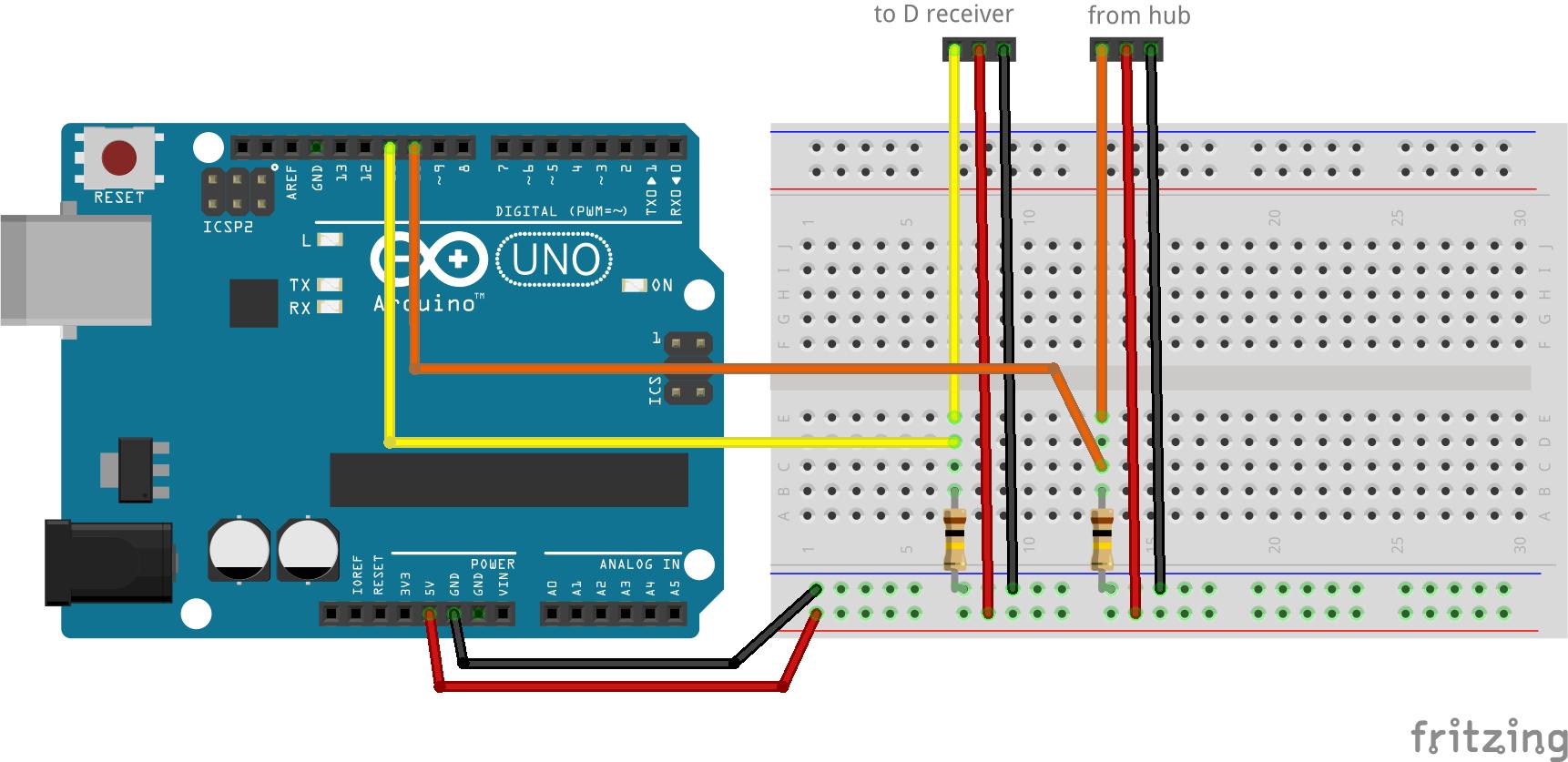 Frsky telemetry на Arduino
